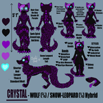 Crystal Reference Sheet 2018 by Crystal-WolfDarkness