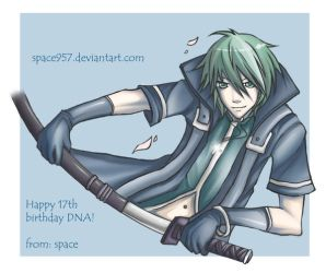 Happy birthday DNA+++ by space957