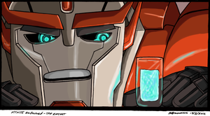 TFP Ratchet in MTMTE by SilverXenomorph
