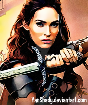 Megan Fox (Knight) by YanShady