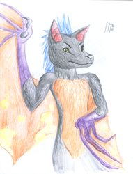 Bat OC by FearFurr