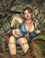 Tomb Raider Color by Javilaparra