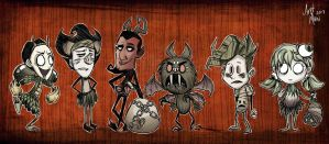 Don't Starve: Halloween Skins by AretMaw
