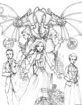 *Bioshock* Constants and Variables - Pencils by ghostfire