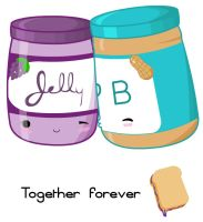 Together Forever-PB+J by kittengodzilla