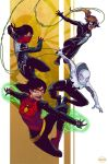 Spider-Women by ParisAlleyne