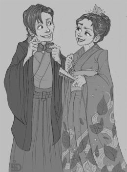 Kimonos are cool. Right Clara? by Redundantthoughts