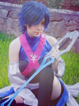 Aqua Cosplay 2 by rina-imbers