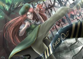Hong Meiling / Keep Out by Killerjaja