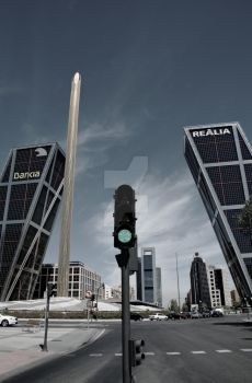 The Skyscrapers of Madrid XIII by Astaroth667