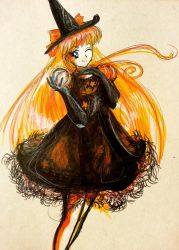 Happy Halloween: Sailor Venus by Moonlight-Seraph
