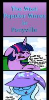 The Most Popular Mares in Ponyville by alexsalinasiii