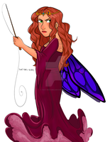 Queen Mab Drawing by 7H47-0N3-N3RD
