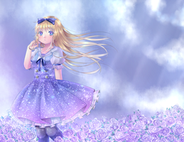 Alice in Spring by ScruffyPoop