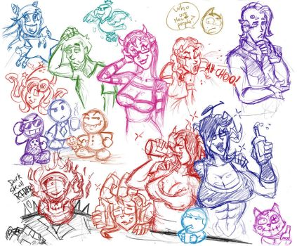 Page of People's OCs by hooksnfangs