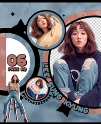Png Pack 3758 - Lee Sung Kyung by southsidepngs