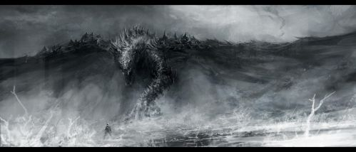 Black Dragon by ChrisCold