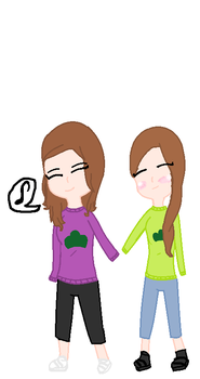 Me and my gf holding hands~ by PastelCat12