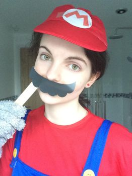 Mario cosplay 5 by TotallyDeviantLisa