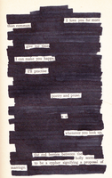Blackout Poem 1 by ClassyWalruses