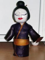 Bobble Head Geisha by GeekyLogic