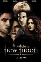 New Moon Movie Poster by sara11