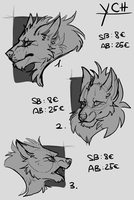 Wolf YCH - AUCTION CLOSED by upseT-rex