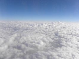 Above the cloud by RiverKpocc