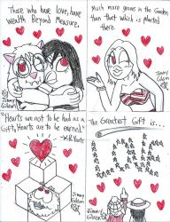 Valentine's Day art exchange submissions 8 by CelmationPrince