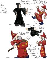 Death Eaters vs UU by Rahball