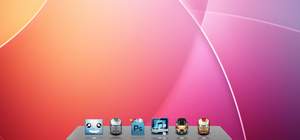 Gloss 3D Dock AWN Theme by SuperJulius001