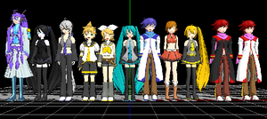 MMD Models by MoonStar0715