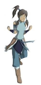 KORRA by TinyPunches