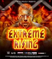 WWE Fantasy PPV Extreme Rising poster feat. HHH by DS951