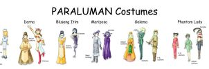 Paraluman Costumes by blue-fusion