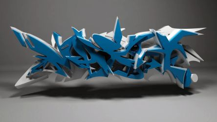 Maxer wild style 3d graffiti by anhpham88