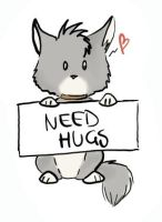 Need Hugs by Silenthowl7