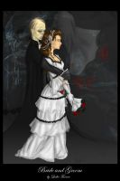 .:Bride and Groom:. by trisis