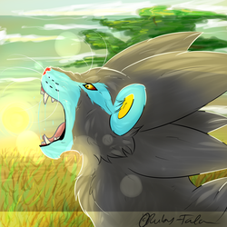 Profilepic: Luxray by Ruby-Talon