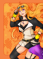 Yang Xiao Long by brimochi
