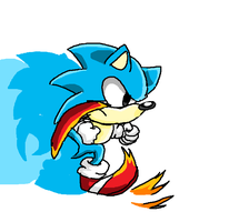 classic sonic by supermarioguy