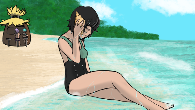 CA: Beach Party Repose by iCheddart