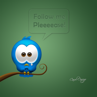cute twitter by carizzo