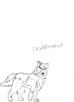 Monster wolf 1 : Frankenwolf by redwolf2005