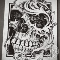 Renaiskull by DeadInsideGraphics