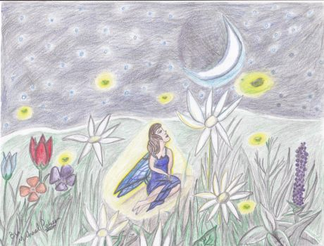 Fairy in the Moonlight by Gexzilla5