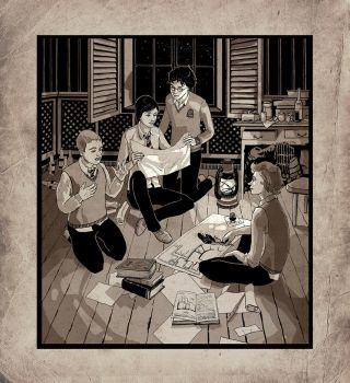Marauder's Map by Fistis