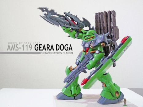 GEARA DOGA XTREMIS POSED by lokesc
