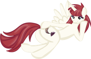 FanArt of Lauren Faust OC pony by Rayodragon