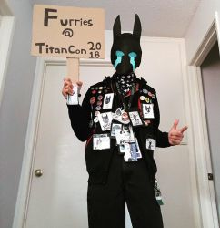 Living Night wants you to join Titancon Furmeet by AjayRulezzz